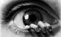 peeping-eye-pencil-drawing